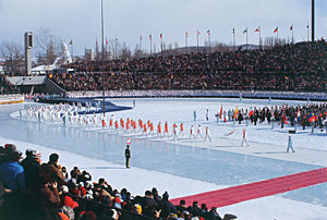 Opening Ceremony of the 1972 Sapporo Winter Olympics