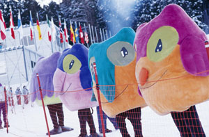 The 1998 Winter Olympics in Nagano