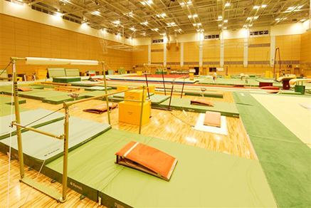 Indoor training center Artistic Gymnastics01