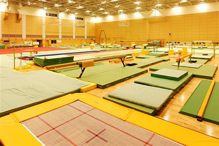 Indoor training center Artistic Gymnastics02