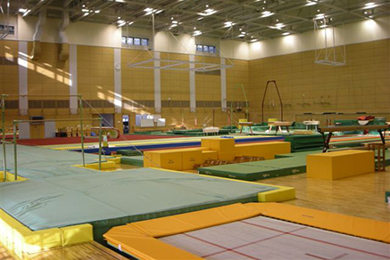 Indoor training center Artistic Gymnastics04