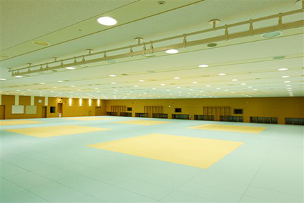 Judo Indoor Training Center Ajinomoto Ntc Joc