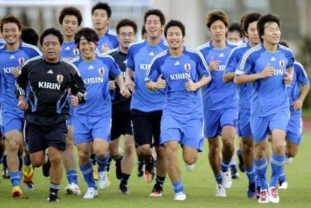 写真】サッカーU―23候補グアム合宿 走力トレなどを1時間 - JOC