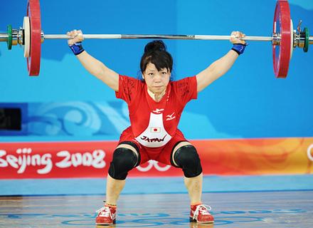 ウエイト リフティング 日本 代表