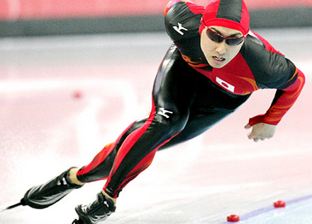 写真】スピードスケート 及川佑選手 - JOC