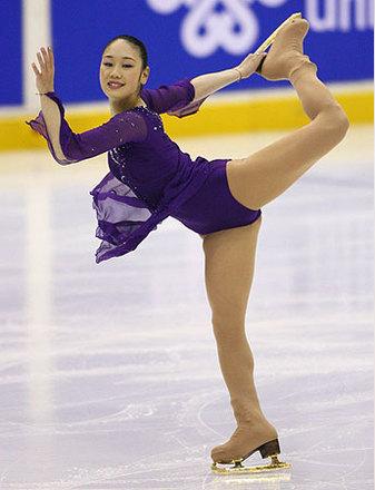 写真】フィギュアスケート |中野友加里選手 - JOC