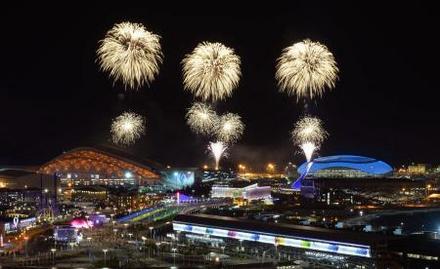 オリンピック 花火 東京