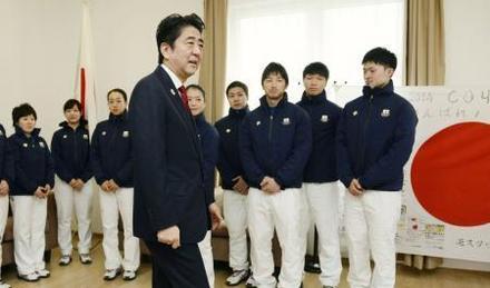 安倍総理と浅田真央