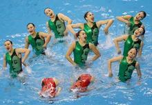 日本は2位 アジア大会シンクロ -...