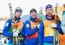 複合団体で、日本が銀 冬季ユニ...