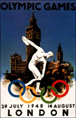 1948年ロンドン大会 : ポスター...