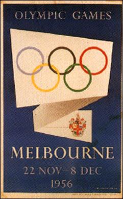1956年メルボルン大会 - オリンピック開催地一覧&ポスター - JOC