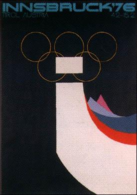 1976年インスブルック大会 - オリンピック開催地一覧&ポスター - JOC