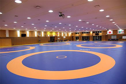 屋内トレーニングセンター レスリング 味の素ナショナルトレーニングセンター Joc